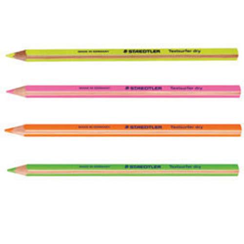【STAEDTLER】 MS12864  乾式螢光筆-粉綠