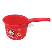 〔小禮堂〕Hello Kitty 小水瓢《紅.點點.蝴蝶結》顏色搶眼 4973307-20643
