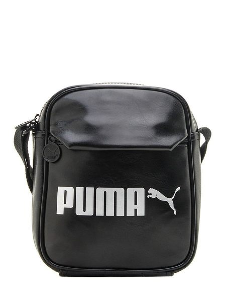 【iSport愛運動】PUMA CAMPUS 皮革質感 側肩背包 07500401 後側無拉鍊夾層