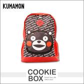 正版 熊本熊 KUMAMON 豬鼻子 後背包 書包 護脊 置物 透氣 輕鬆 學生 兒童 上學 (紅) *餅乾盒子*