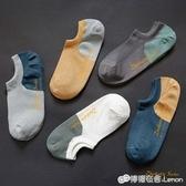 襪子男短襪船襪男士春夏季夏天超薄款透氣低筒純棉防臭吸汗ins潮 檸檬衣舍