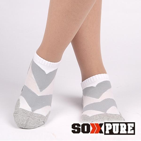 【SOXPURE】女 極速快乾機能襪『淺灰』SP1004 露營.戶外.登山.保暖襪.彈性襪.休閒襪.襪子