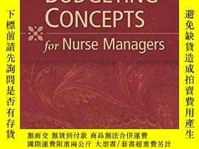 二手書博民逛書店Budgeting罕見Concepts for Nurse Ma