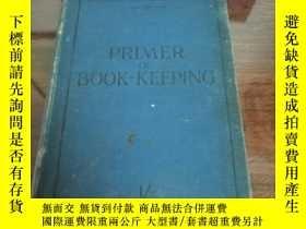 二手書博民逛書店primer罕見of book keeping (英文原版) 應