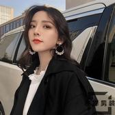 設計感耳環小眾女韓國氣質個性長款耳釘無耳洞耳夾【左岸男裝】