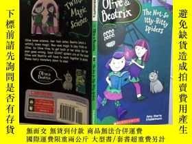 二手書博民逛書店The罕見Not-So Itty-Bitty Spiders (Olive & Beatrix #1) (Oliv