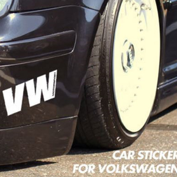 VW 個性車貼 貼紙 polo golf tiguan Beetle passat jetta GTI T-CROSS