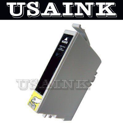 USAINK☆EPSON T0461 黑色相容墨水匣  Stylus Color - C63 / C65 / C83 / CX3500