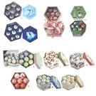 【X mas聖誕特輯】聖誕裝飾-彩繪球(7.5公分、14入) X00191200