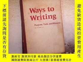 二手書博民逛書店WAYS罕見TO WRITING .Y203004
