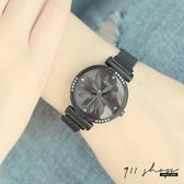 Lacuna.IEKE品牌。花朵鑽漩磁吸金屬網帶米蘭帶錬帶手錶【ta077】911 SHOP