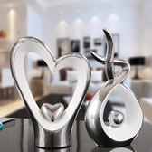 創意擺件創意家居陶瓷招財裝飾品擺件現代簡約客廳電視柜酒柜玄關桌面擺設【歐森家居】