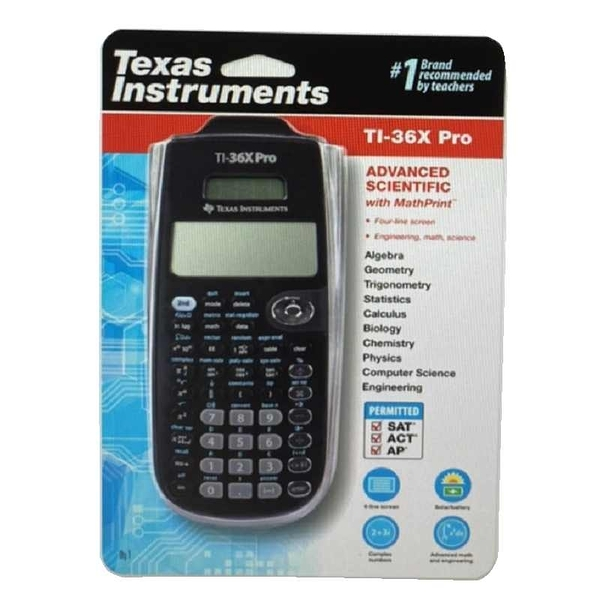 [9美國直購] Texas Instruments 工程計算機 TI-36X Pro Engineering/Scientific Calculator