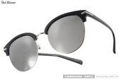 PAUL HUEMAN 太陽眼鏡 PHS10801A C05 (黑) 復古風潮個性眉框水銀鏡面款 # 金橘眼鏡