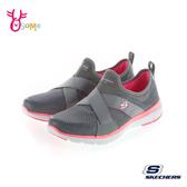 Skechers FLEX APPEAL 3.0 寬楦款 成人女款 運動鞋慢跑鞋 T8271#灰色◆OSOME奧森鞋業