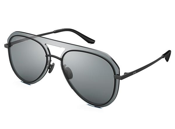【台南 時代眼鏡 MOLSION】陌森 MS7013 B10 飛官款墨鏡太陽眼鏡 灰色鏡片 黑框 61mm