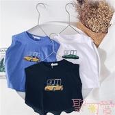 男童t恤寶寶短袖夏季上衣兒童體恤夏裝【聚可愛】