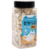 【寵物王國】OzBone奧力棒-貓用凍乾肉磚零食(鱈魚)65g