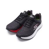 SKECHERS 慢跑系列 GO RUN FORZA 3 綁帶運動鞋 黑白 55206BKW 男鞋