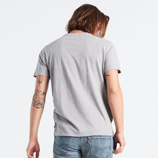 Levis 男款 短袖T恤 / Snoopy限量系列 / 經典Logo款 / 灰