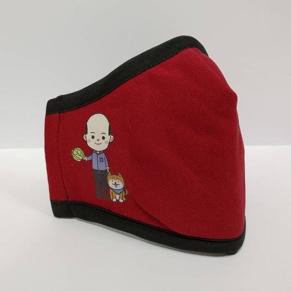 PYX 品業興 寶康適 H康盾級口罩- 紅 (賣菜郎限量版)