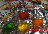 sns 古早味 Kitty 造型水果軟糖 果汁QQ軟糖 水果QQ糖 300公克約±55顆(聖誕QQ糖 聖誕糖果)