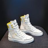 馬丁靴馬丁靴女鞋新款靴子夏季薄款百搭短靴夏天透氣網紗春秋季高幫 JUST M