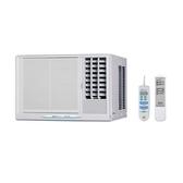 (含標準安裝)台灣三洋SANLUX定頻窗型冷氣4坪SA-R281FEA電壓110V右吹