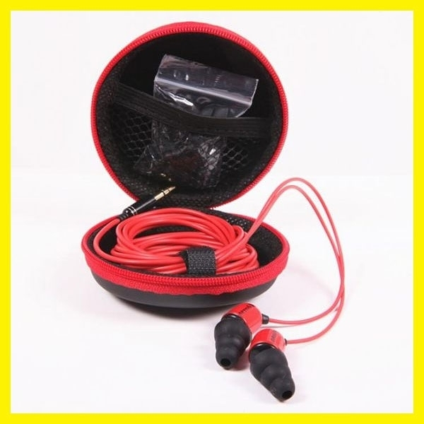 愛納維克重低音專業監聽耳機耳塞yy主播電腦聲卡入耳式3米長線