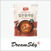 【即期品2018/7/22】韓國 DONGWON 東遠 辣雞肉湯 料理包 500g  辣雞湯 即食鍋 湯底 底料包 調理包 Dreamsky