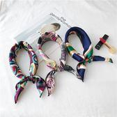 裝飾文藝圍巾春季復古空姐職業商務小領巾