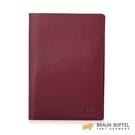 【BRAUN BUFFEL】OPHELIA-R 奧菲莉亞R系列護照夾 - 櫻桃色 BF643-R181-DC