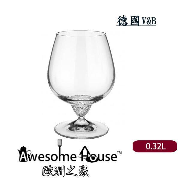 特價! 德國 V&B Octavie 水晶 白蘭地 酒杯 (12.6cm 0.32L)#1173900100