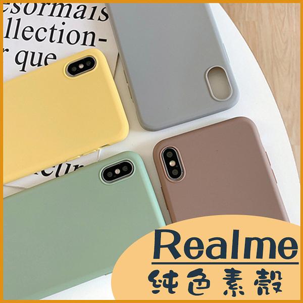 Realme X50 X3 Realme C3 Realme 6 Realme 6i 手機殼 日韓素殼 糖果色 純色殼 防摔軟殼 保護套