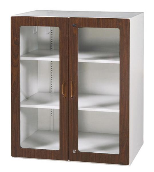 【 IS空間美學】鋼木玻璃三層式(2種款式可選)