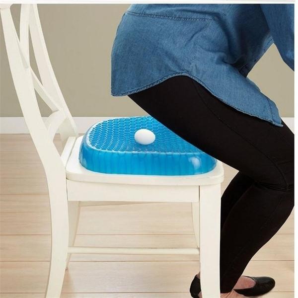 送防塵套  蜂槽式雞蛋凝膠坐墊 辦公室坐墊 汽車坐墊 透氣座墊