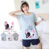 *蔓蒂小舖孕婦裝【M11716】*台灣製.大頭法鬥狗狗T恤