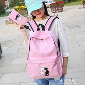 韓版小學生書包女孩公主1-3-4-6年級校園防水兒童雙肩包6-12周歲 晴光小語