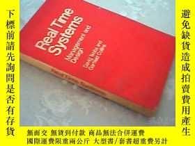 二手書博民逛書店Real罕見Time Systems (實時系統的管理和設計)英