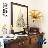 復古模型飾品擺件家居飾品客廳酒柜裝唱片機【古怪舍】