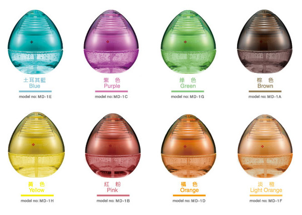 【fami】安體百克 antibac2k 魔術球系列 空氣洗淨機 DEW 水滴型 MD 1 系列