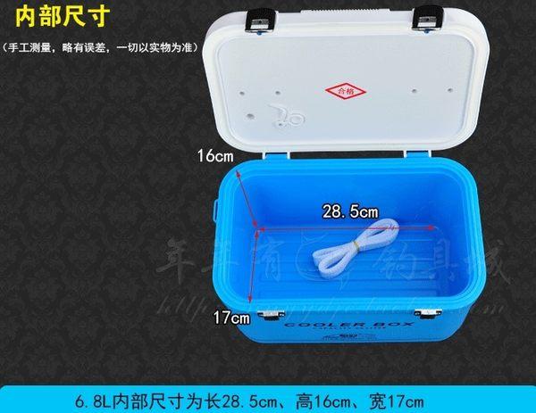 [協貿國際]  迷你小釣箱超輕多功能釣魚箱(6.8L)