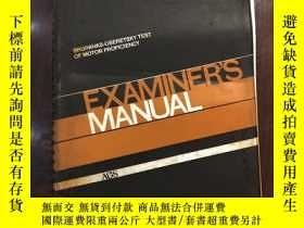 二手書博民逛書店Examiner's罕見manualY198722 Robert