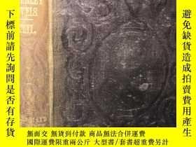 二手書博民逛書店1851年罕見WAVERLEY NOVELS 威弗利小說 卷42 FAIR MAID OF PERTH 雙面封面印