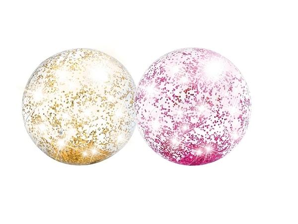 [衣林時尚] INTEX 閃亮沙灘球 海灘球 充氣球 大球 (直徑約40cm) 58070