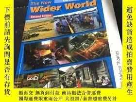 二手書博民逛書店The罕見New Wider World Second Edit