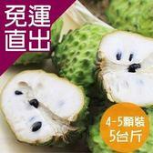 沁甜果園SSN. 台東鳳梨釋迦(4-5顆裝,5台斤)【免運直出】