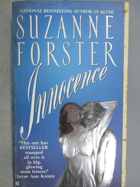 【書寶二手書T9/原文小說_C7J】Innocence_Suzanne Forster