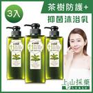 tsaio上山採藥 茶樹美背沐浴乳600ml (3入組)