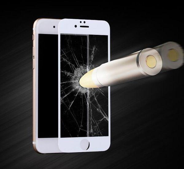 【TG】絲印大邊黑/白鋼化膜 前膜iphone7 apple iphone 7 iphone 7 plus鋼化膜 保護貼 玻璃膜